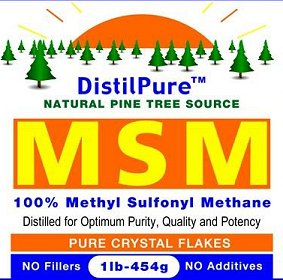 DistilPure MSM - Natural Pine Tree Source