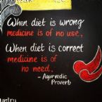 When diet is wrong