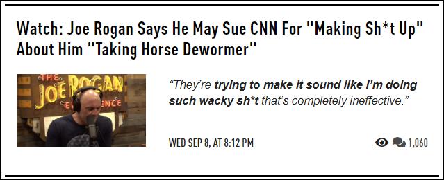 Joe Rogan may sue CNN