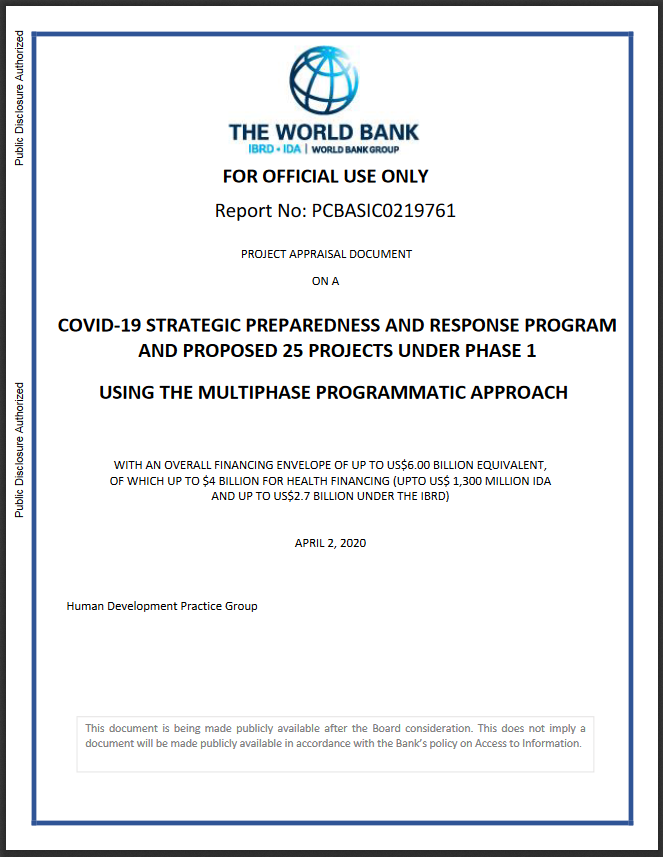 WORLD BANK DOC COVID to 2025
