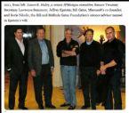 2011 left James E Staleyx Larry Summersx Jeffrey Epsteinx Bill Gatesx