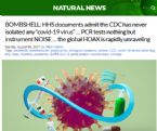 DOCUMENTS SHOW CDC NEVER ISOLATED COVID VIRUS