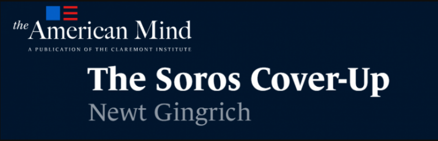 GINGRICH THE SOROS COVERUP 0