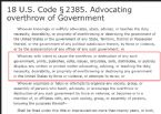 4723 18US Code 2385 ... (Click to enlarge)