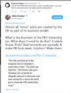 ASSANGE ALMOST ALL TERROR PLOTS ARE CREATED BY THE FBI