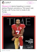 KAEPERNICK STARTED KNEELING IN PROTEST DURING OBAMA S PRESIDENCY