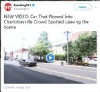 NEW VIDEO Car That Plowed Into Charlottesville Crowd Leaving Scene