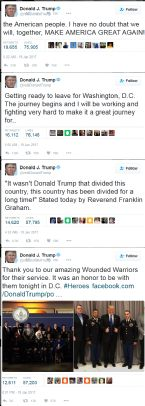 TRUMP TWEETS 1 19 2017 am ... (Click to enlarge)