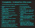 COSMOPHOBIA 1