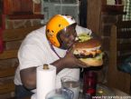 Huge hamburger ... (Click to enlarge)