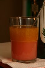 Click To View:  Olive oil and grapefruit juce blended together.