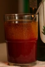 Click To View:  Oil and grapefruit juice blended with food dye