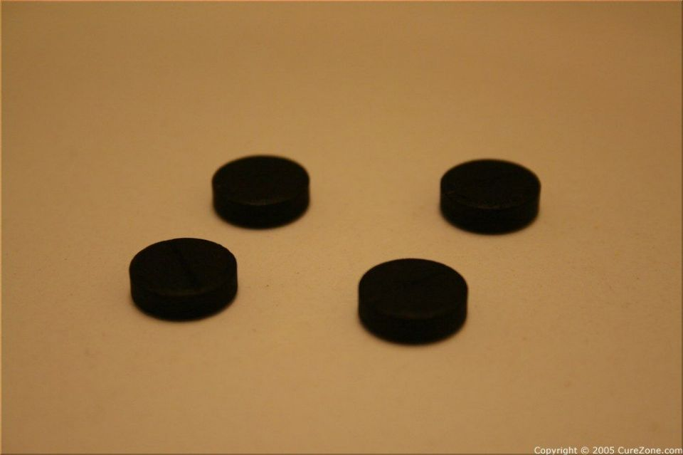 activated charcoal 4 tablets