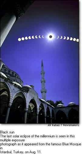 Istanbul Turkey Solar Eclipse