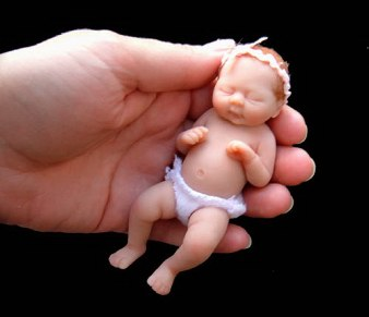 Amazing Miniature Babies by Camille Allen ... (Click to enlarge)