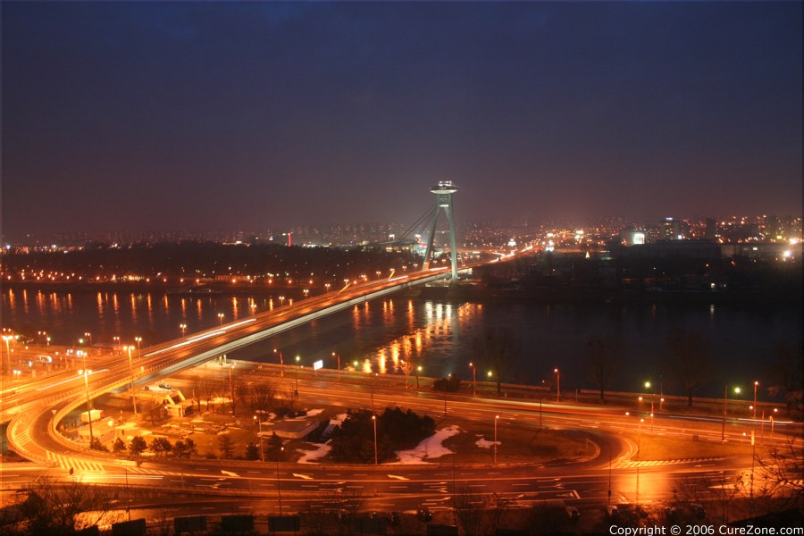 Bratislava By Night, January 7th 2006, Slovakia